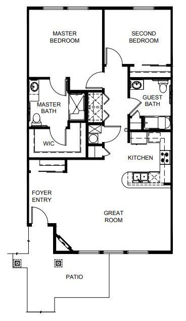 Crescent Floor Plan