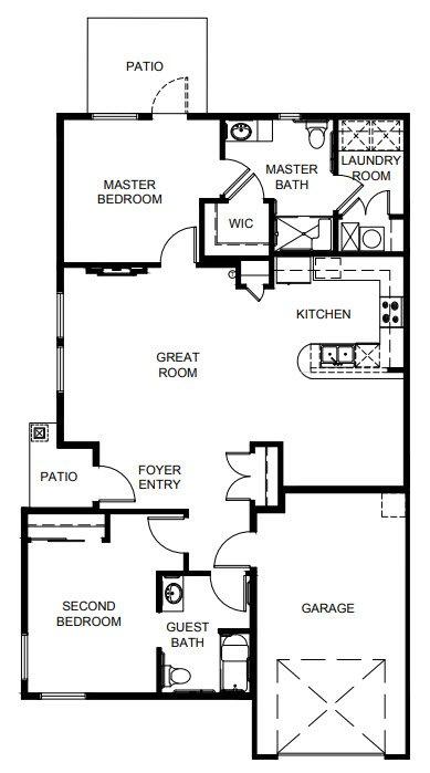Kachess Floor Plan